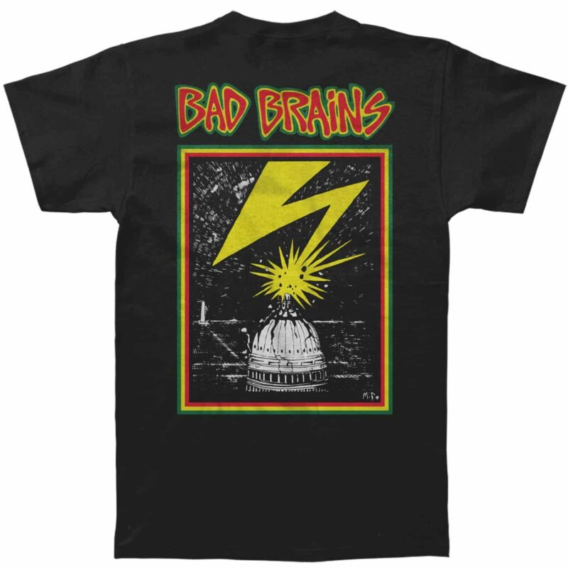 Bad Brains Banned in DC T-Shirt