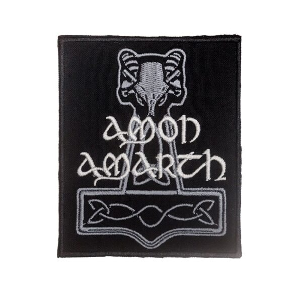 Amon Amarth Hammer Embroidered Patch