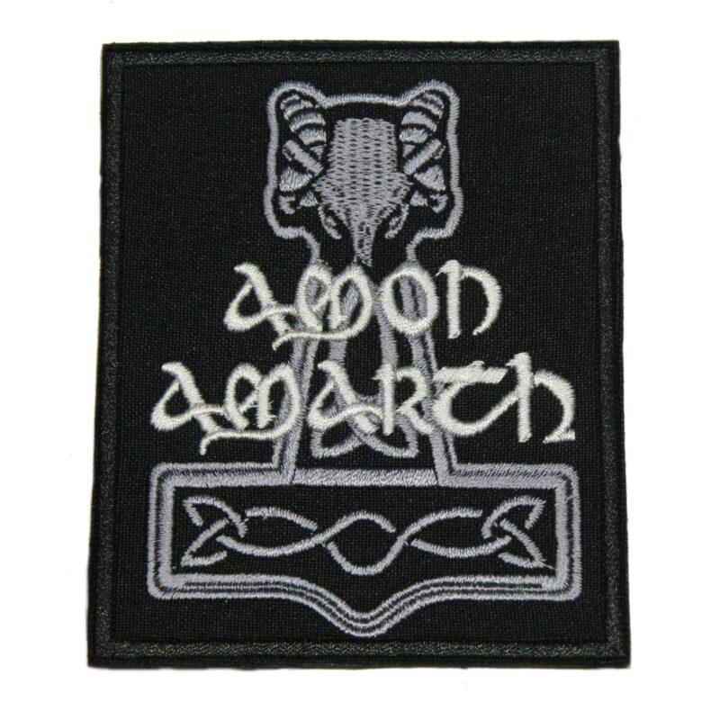 Amon Amarth Hammer Logo Patch