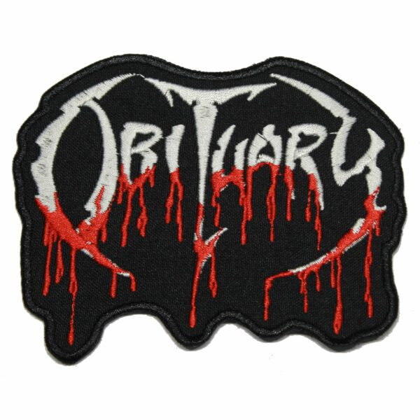 Obituary Band Patch