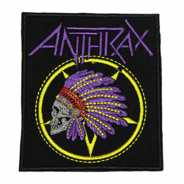 Anthrax Pale Ale Logo Patch