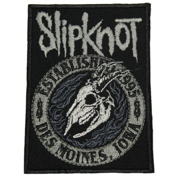 Slipknot Des Moines Iowa Patch