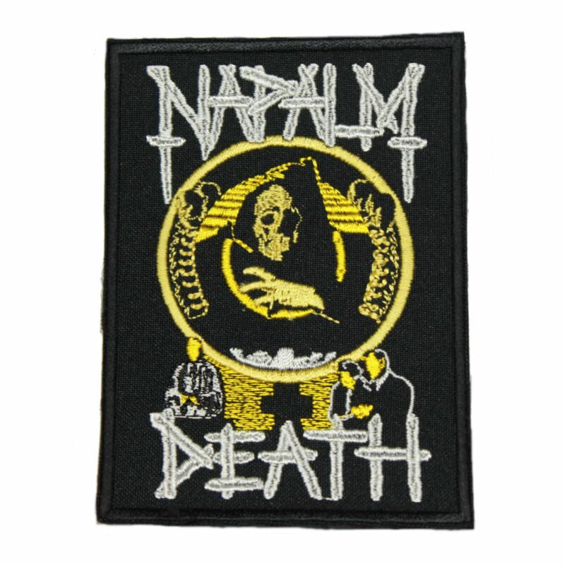 Napalm Death Life Patch
