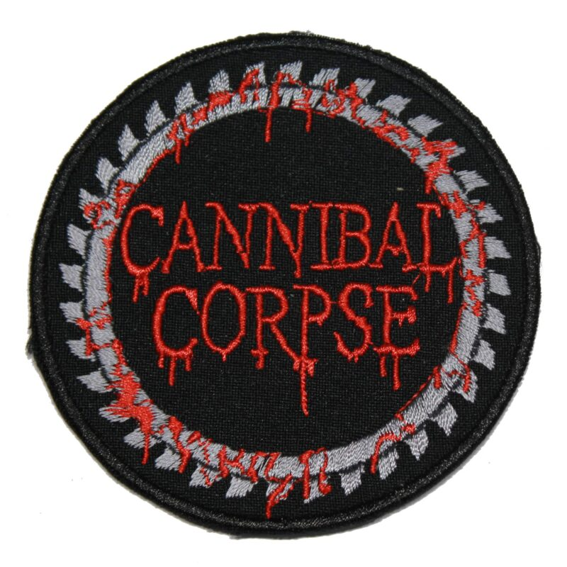 Cannibal Corpse Saw Blade Patch