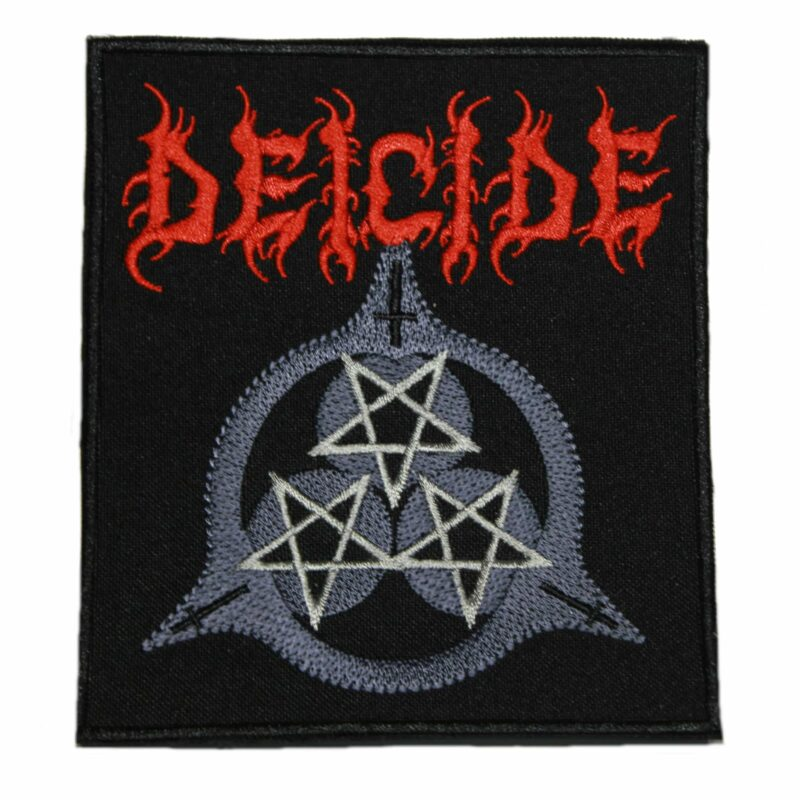Deicide 3 Star Patch