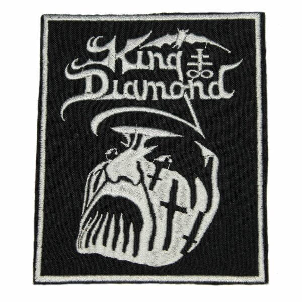 King Diamond Face Patch