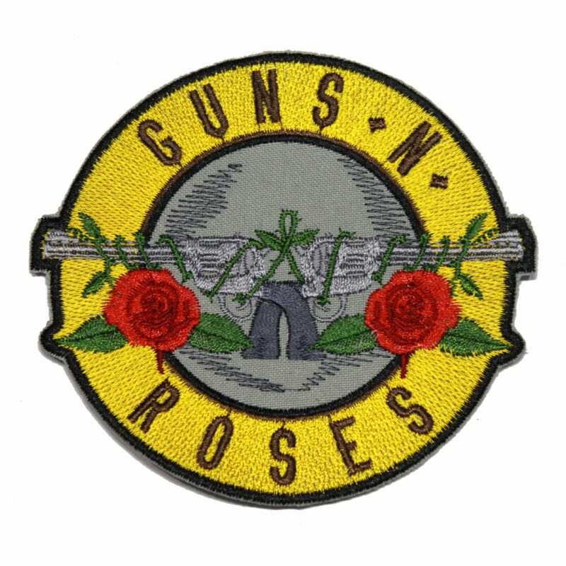 Guns N' Roses Yellow Patch