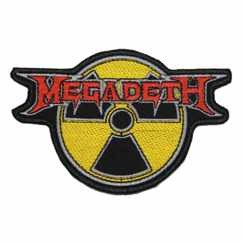 Megadeth Radioactive Nuclear Patch