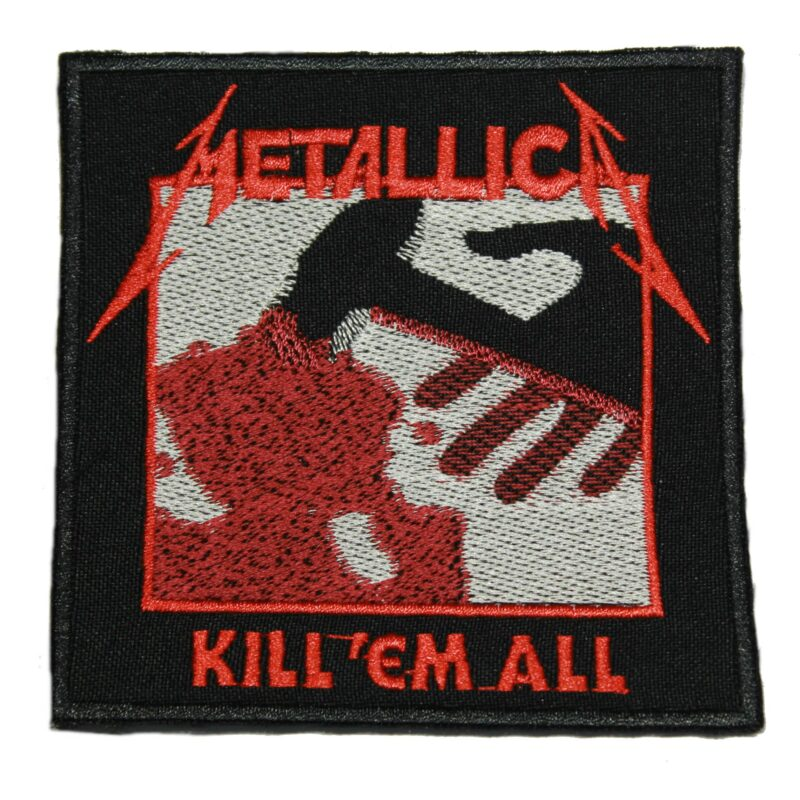 Metallica Kill 'Em All Patch