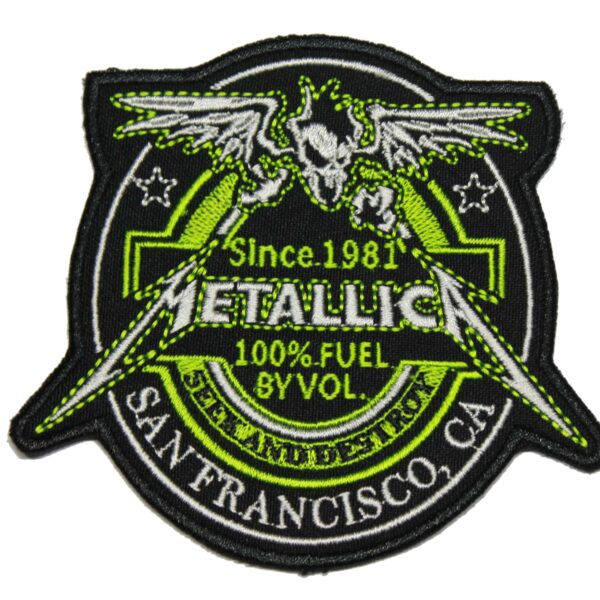 Metallica Seek and Destroy San Francisco Patch