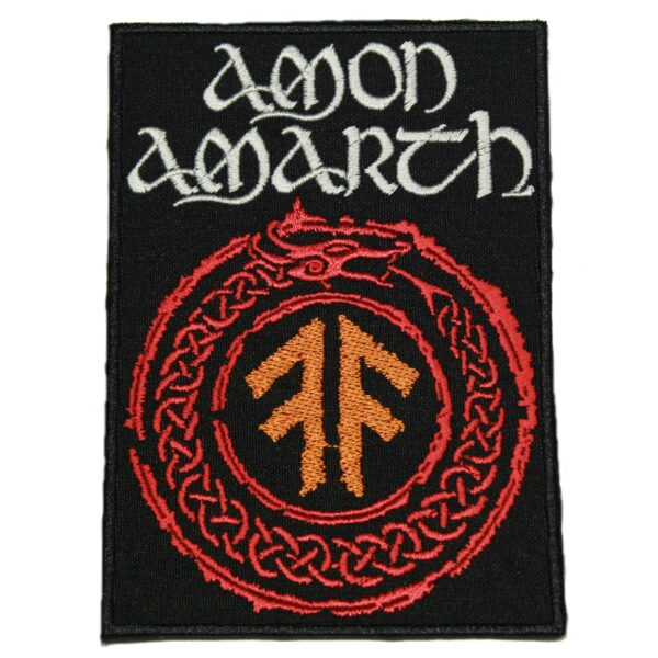 Amon Amarth The Pursuit of Vikings Patch