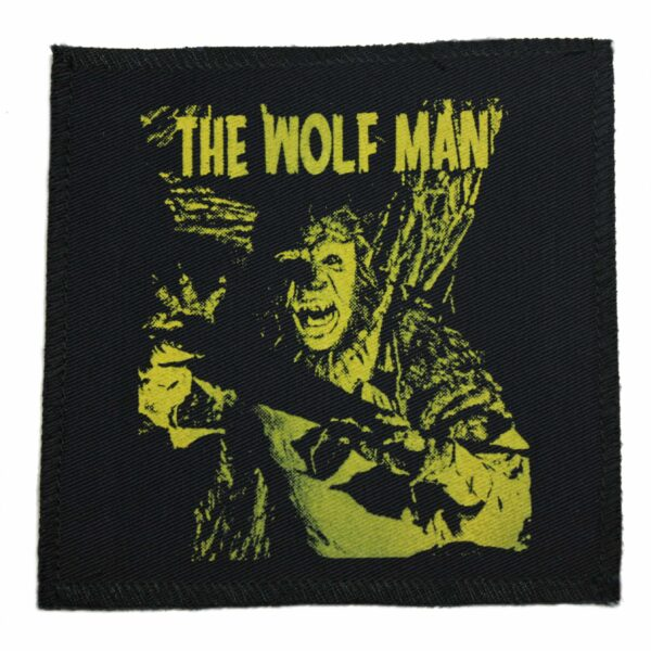 The Wolf Man Cloth Patch