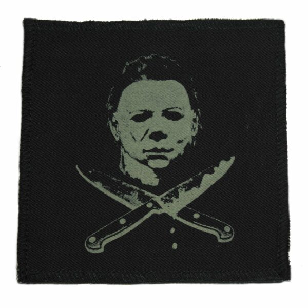 Michael Myers Knives Cloth Patch