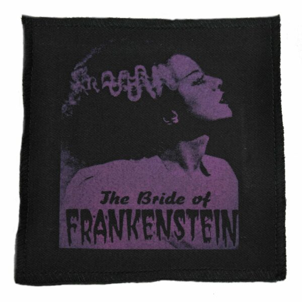 The Bride of Frankenstein Cloth Patch