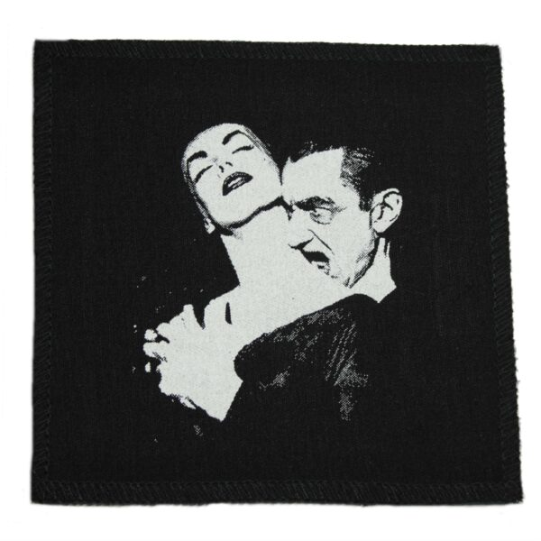 Vampira and Dracula Cloth Patch