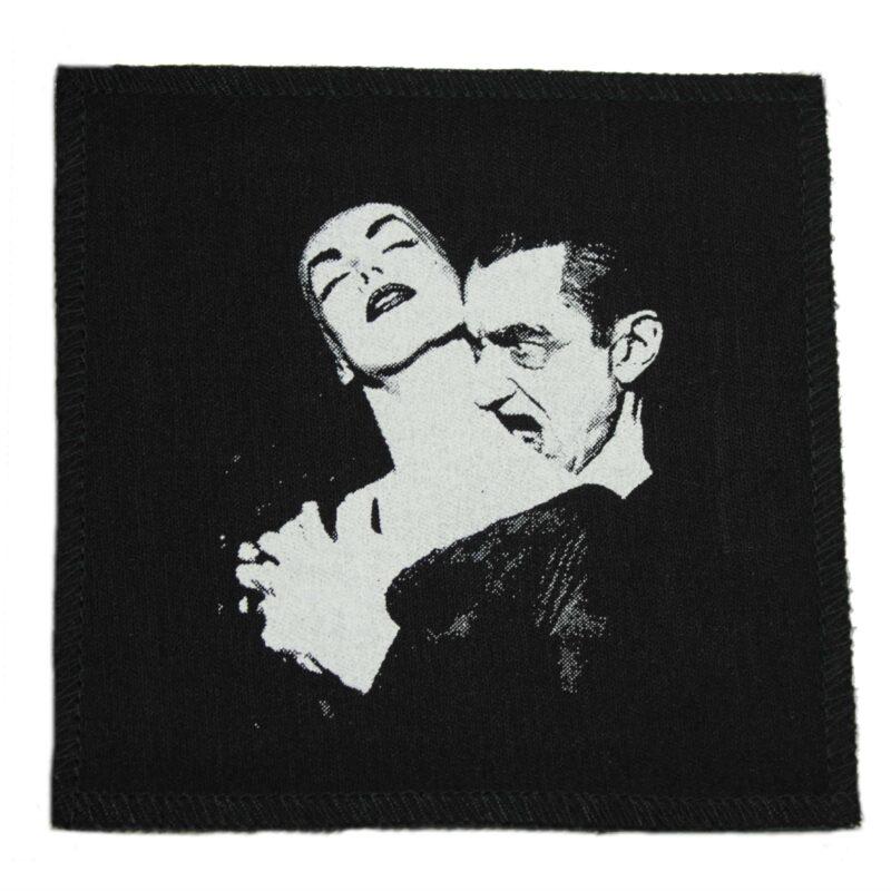 Vampira and Dracula Cloth Patch