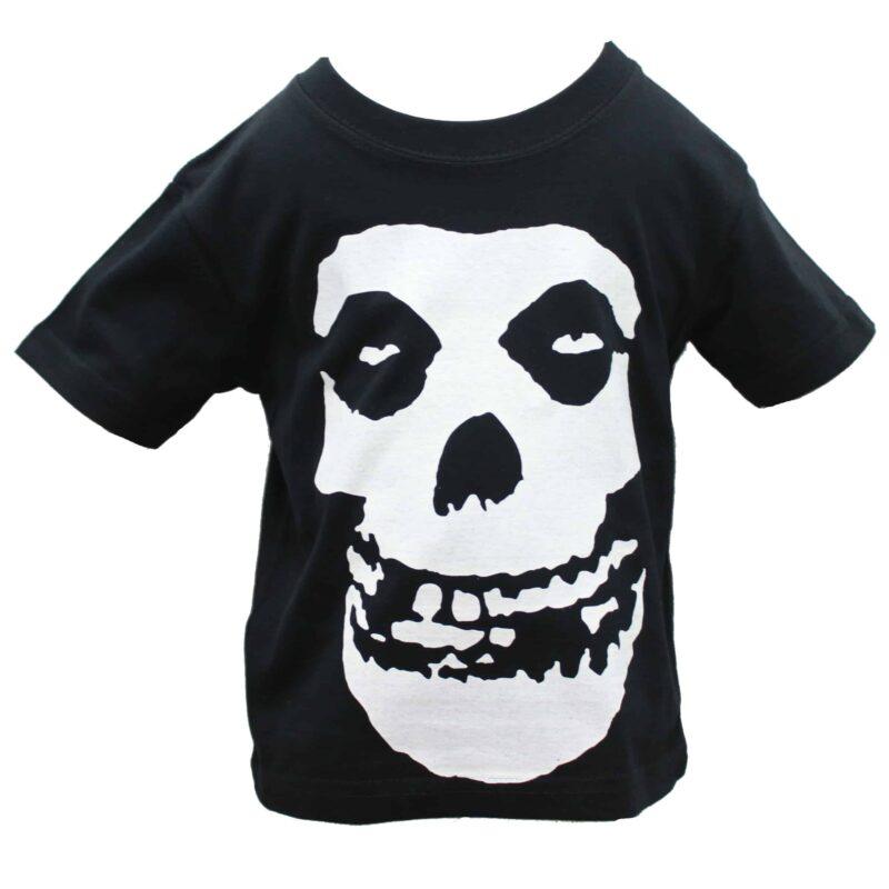 Misfits Fiend Skull Kids Black T-Shirt 1