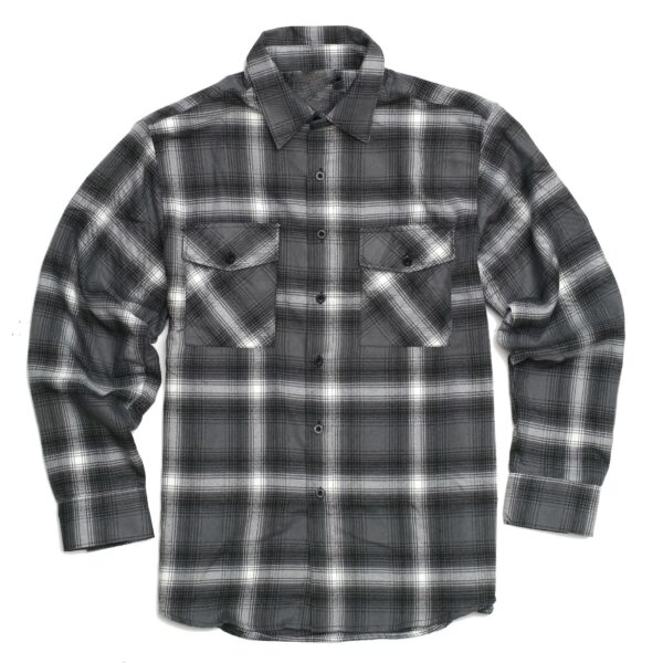Light Gray Plaid Flannel