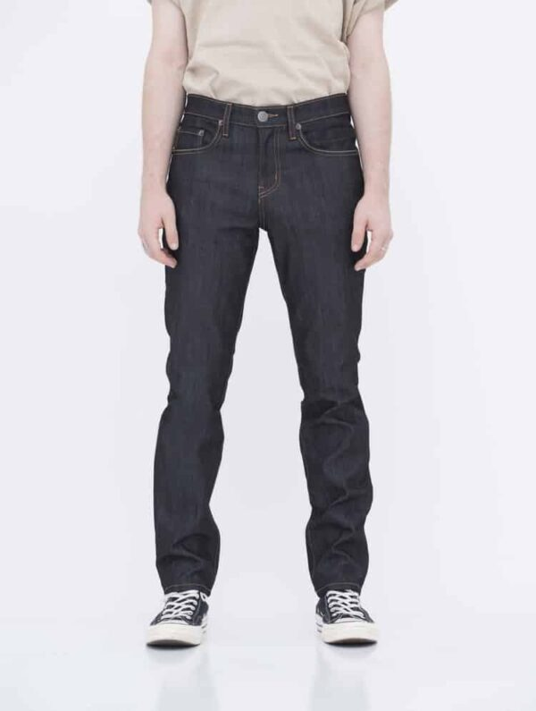 Dark Blue Denim Skinny Jeans by Neo Blue