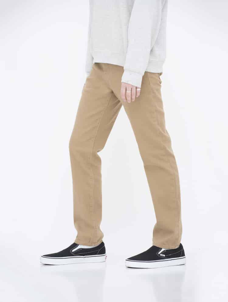 Khaki Skinny Jeans by Neo Blue 1