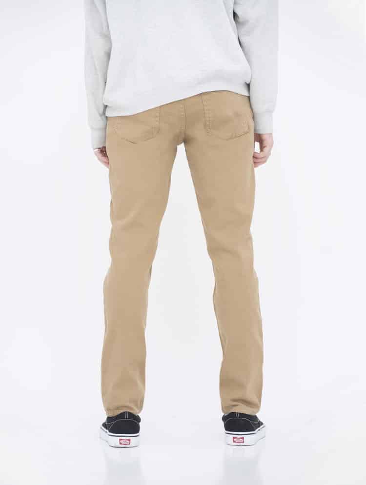 Khaki Skinny Jeans by Neo Blue 2