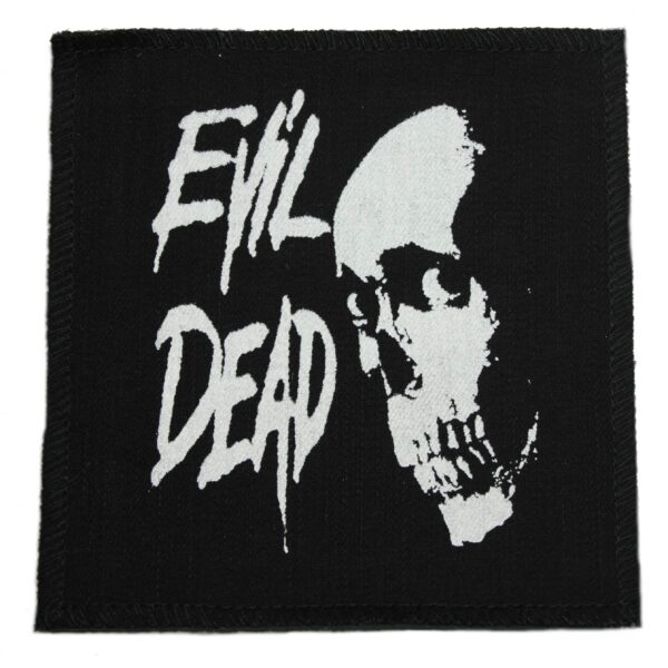 Evil Dead Skull Cloth Patch