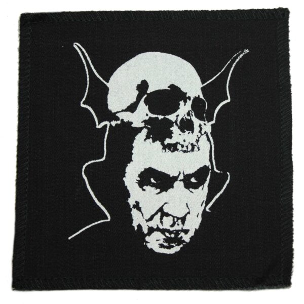 Dracula with Skull Cloth Patch