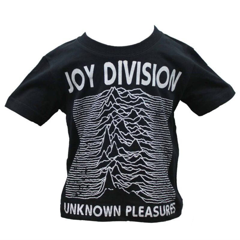 Joy Division Unknown Pleasures Kids Black T-Shirt 1
