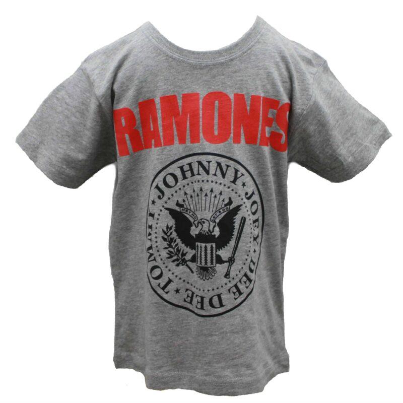 Ramones Kids Charcoal T-Shirt 1
