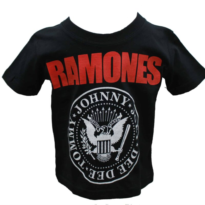 Ramones Kids Black T-Shirt 1