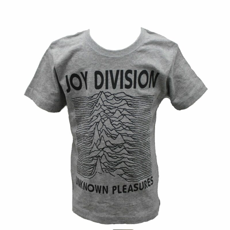 Joy Division Unknown Pleasures Kids Charcoal T-Shirt 1