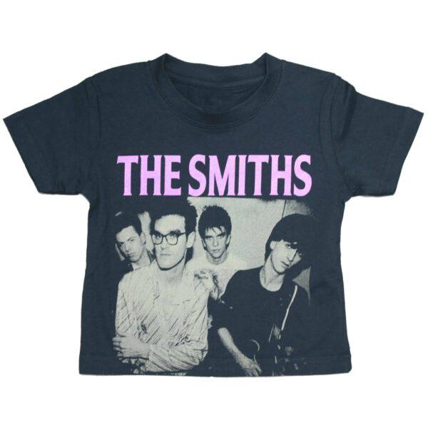 The Smiths Band Photo Kids T-Shirt Black