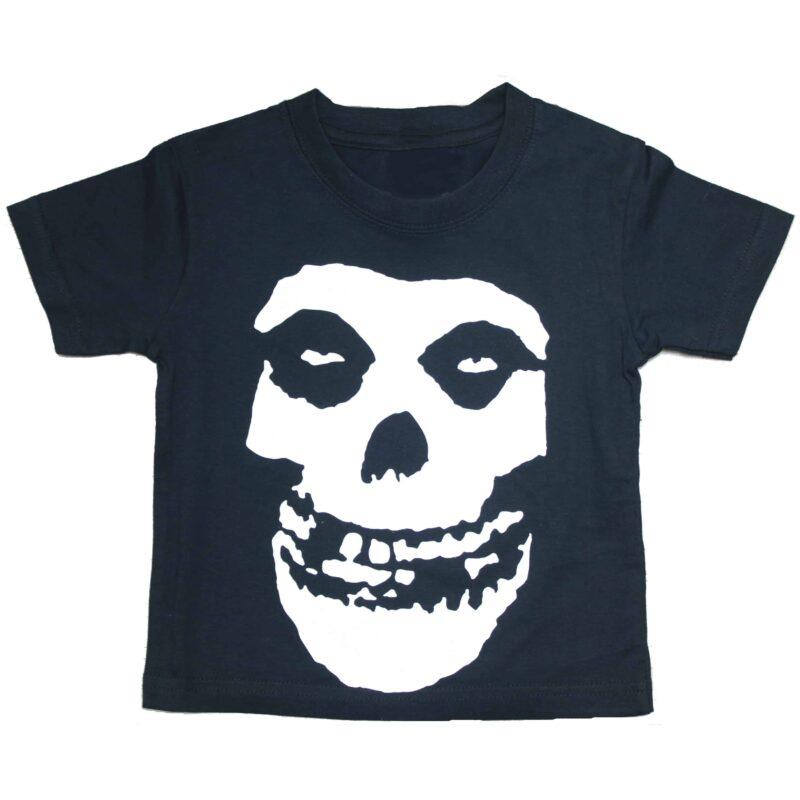 Misfits Fiend Skull Kids Black T-Shirt