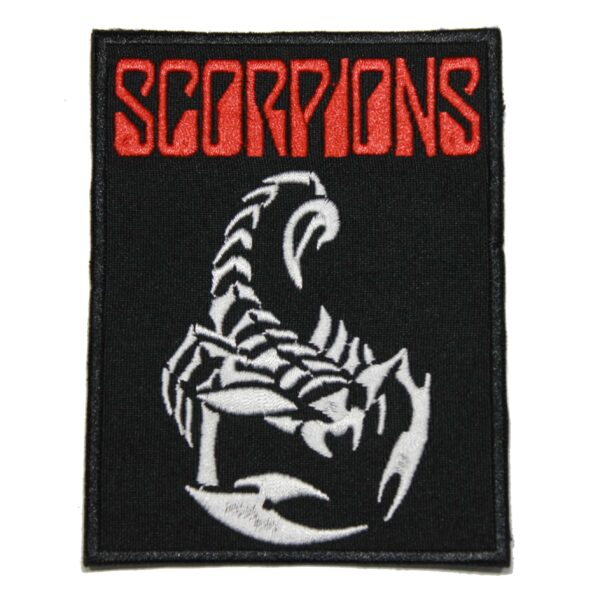 Scorpions Band Patch