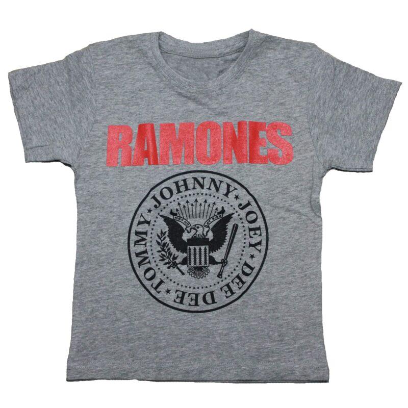 Ramones Kids Charcoal T-Shirt