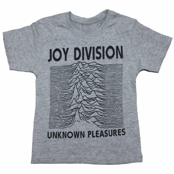 Joy Division Unknown Pleasures Kids Charcoal T-Shirt