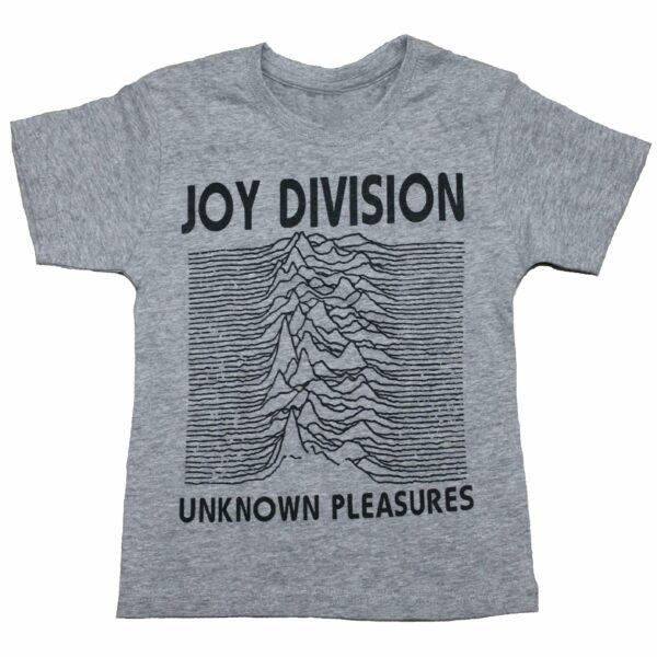 Joy Division Unknown Pleasures Kids Charcoal T-Shirt