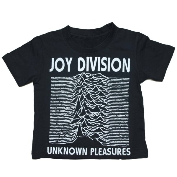Joy Division Unknown Pleasures Kids Black T-Shirt
