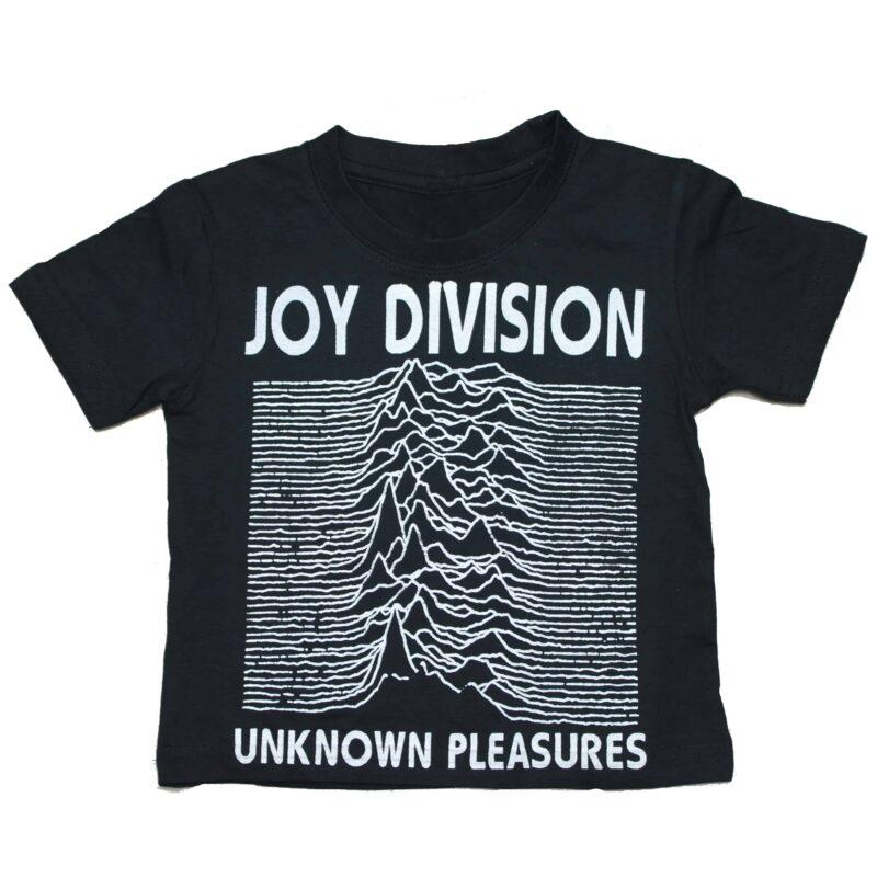 Joy Division Unknown Pleasures Kids Black T-Shirt
