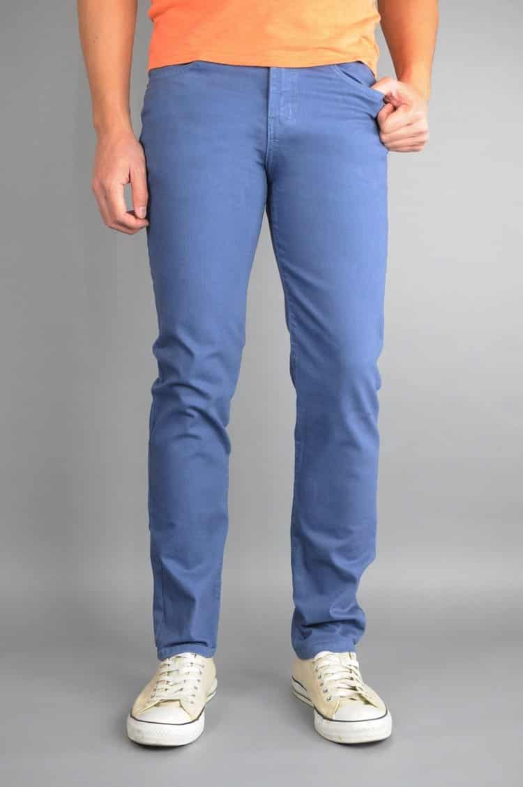 Slate Gray Skinny Jeans by Neo Blue