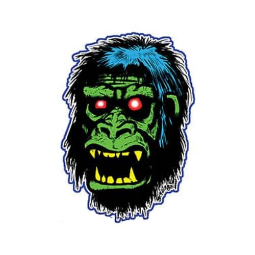 Ben Von Strawn Gorilla Sticker