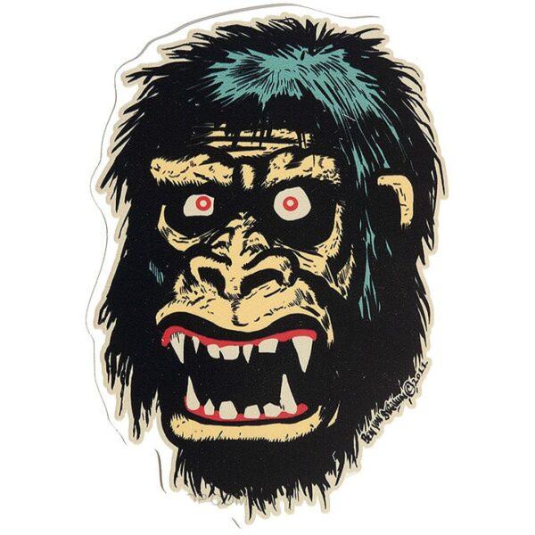 Ben Von Strawn Go Go Gorilla Sticker
