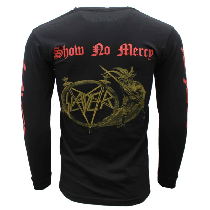 Slayer Show No Mercy Long Sleeve 2