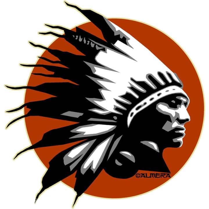 Almera Comanche Chief Sticker