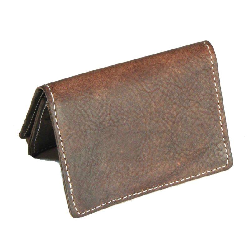Brown Card Case Wallet
