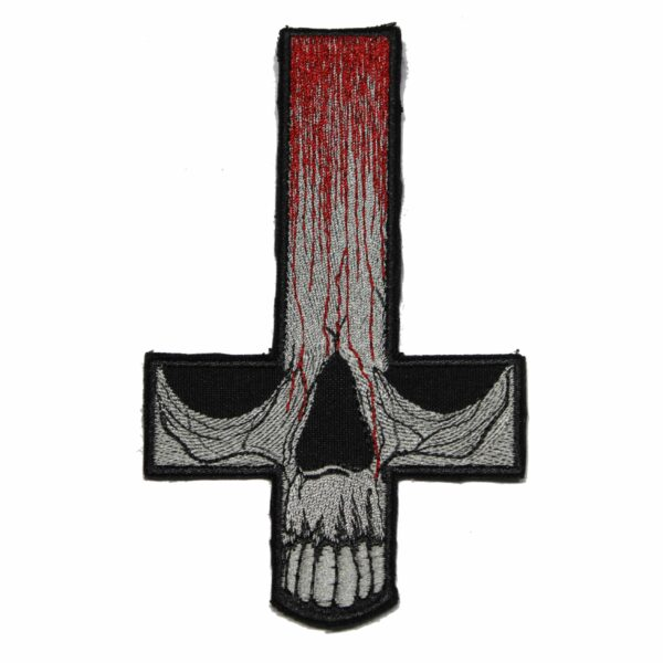 Gorgoroth Skull Cross Patch