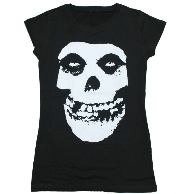 Misfits Crimson Ghost Womens Baby Tee 1
