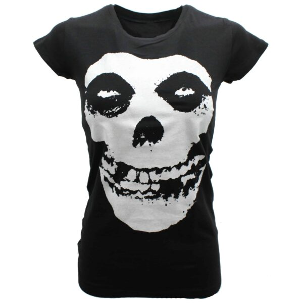 Misfits Crimson Ghost Womens Baby Tee
