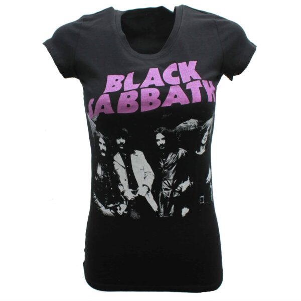 Black Sabbath Womens Baby Tee