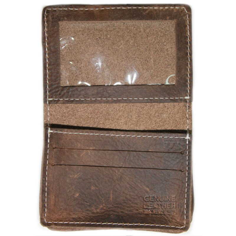 Brown Card Case Wallet Expandable 2